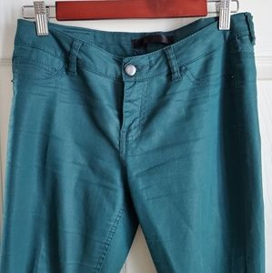 Super comfortable green jeans from XXI. 27